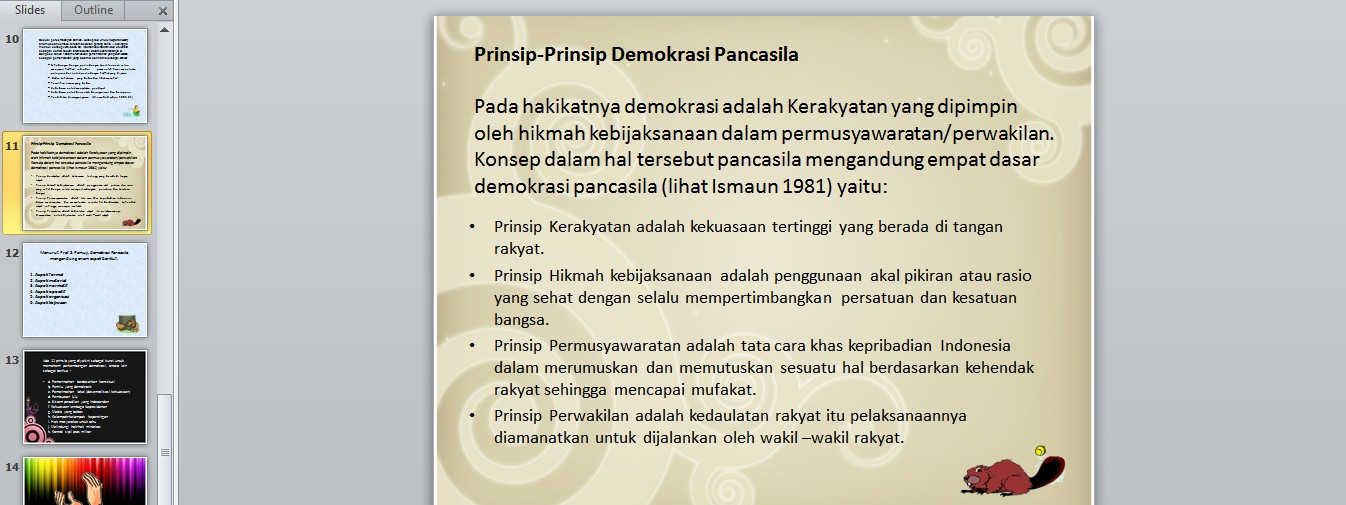 konsep dan prinsip demokrasi di indonesia apri dwi prasetyo
