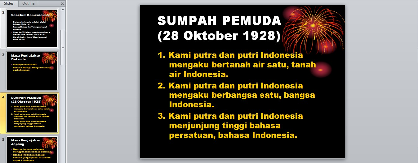 149 kB · jpeg, Bhs.Indonesia – Sejarah Bahasa Indonesia Power Point